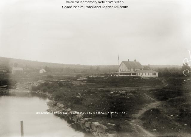 Sebasco Estates club house, Phippsburg, ca. 1910
