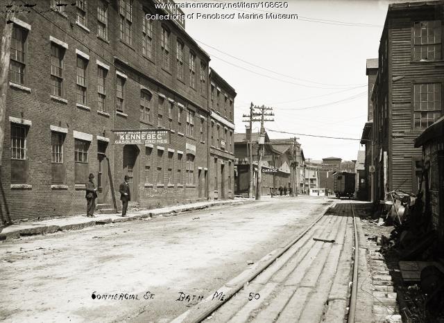 Commercial Street, Bath, ca. 1910