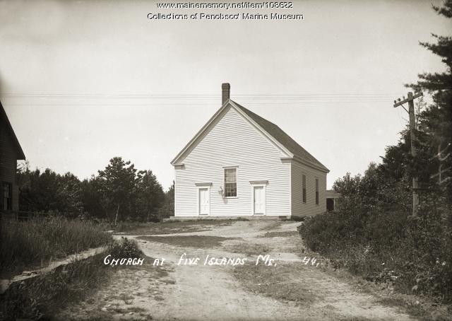 Church, Five Islands, ca. 1910