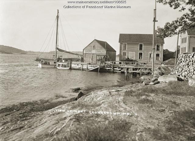 Hinkley Landing, West Georgetown, ca. 1915