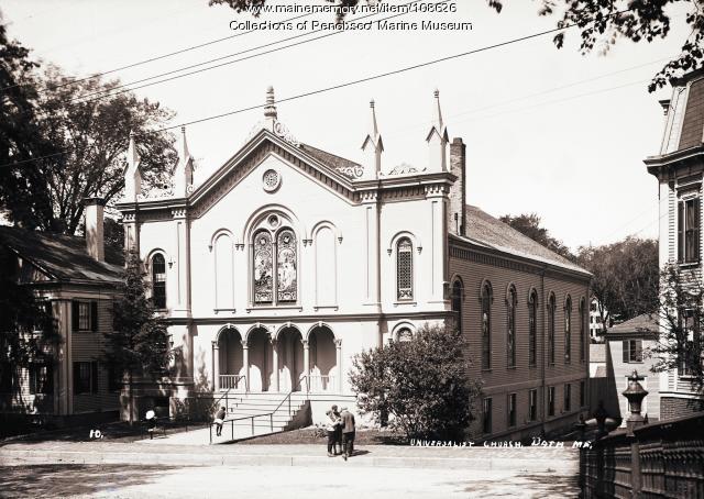 Universalist Church, Bath, ca. 1910