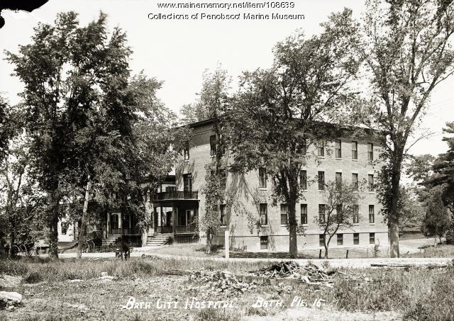 Bath City Hospital, Bath, ca. 1910
