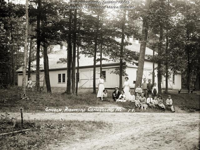 Tabernacle group, Richmond, ca. 1910
