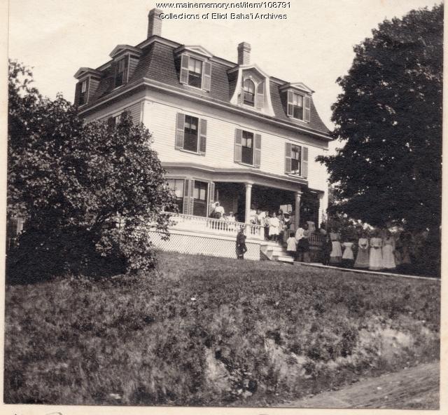 Rosemary Cottage, Eliot, ca. 1888