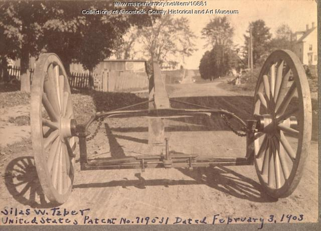 Taber gear assembly prototype, Houlton, 1903