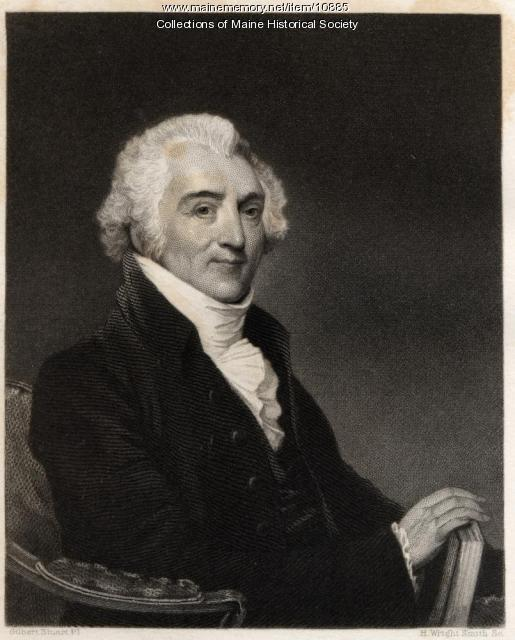 Engraving of James Sullivan, ca. 1800