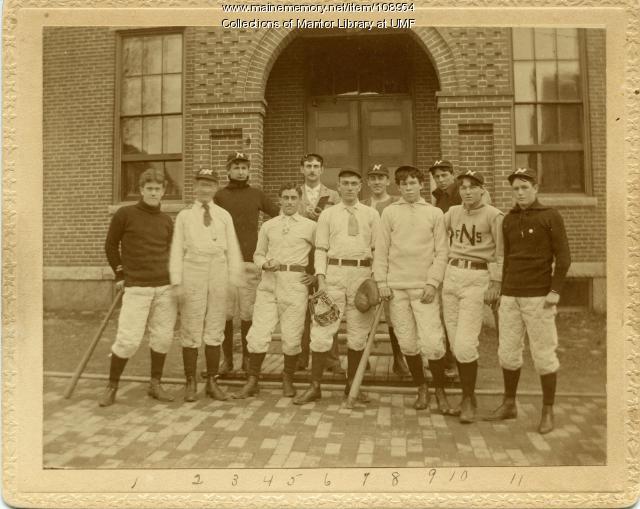 Farmington Normal School baseball team, 1896