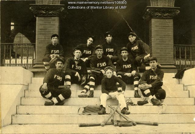 Farmington Normal School baseball team, 1898