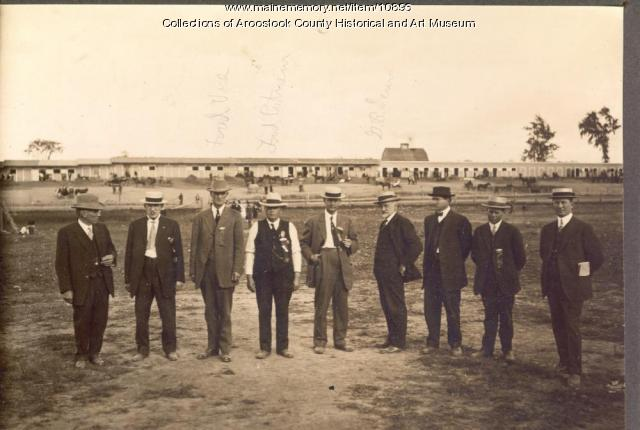 Houlton Fair officials, 1914