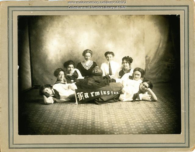 Farmington State Normal School women's basketball team, 1912