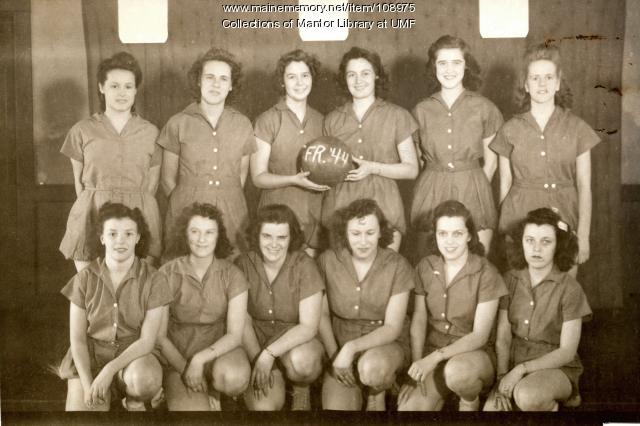 Farmington State Normal School women's basketball team, 1944