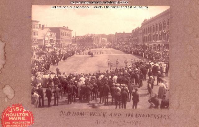 Old Home Week, Houlton, 1907