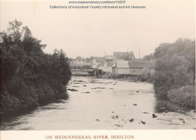 Meduxnekeag River, Houlton