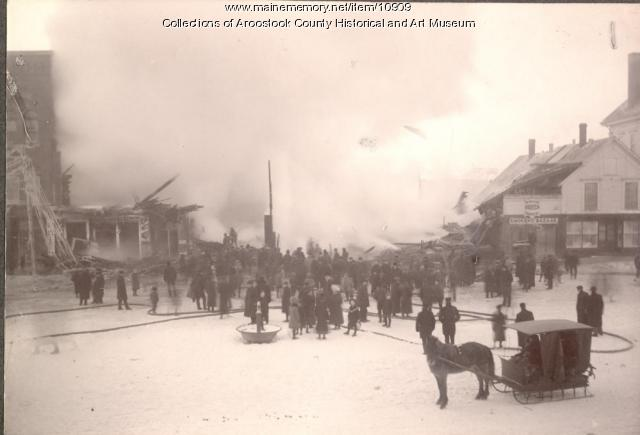 Houlton Music Hall fire, 1905