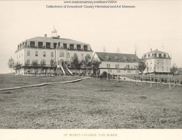Saint Mary's College, Van Buren, ca. 1895