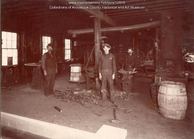 Taber Blacksmith Shop