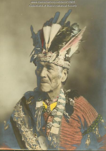Chief Sopiel Selmore, Pleasant Point, 1901