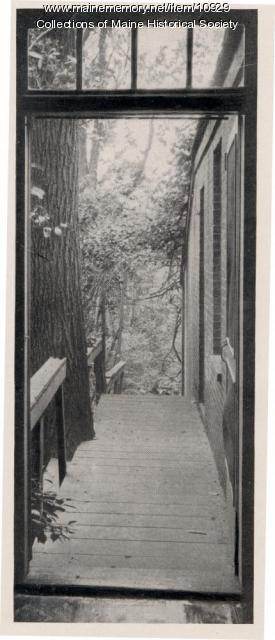 Back hall, Wadsworth-Longfellow House, Portland