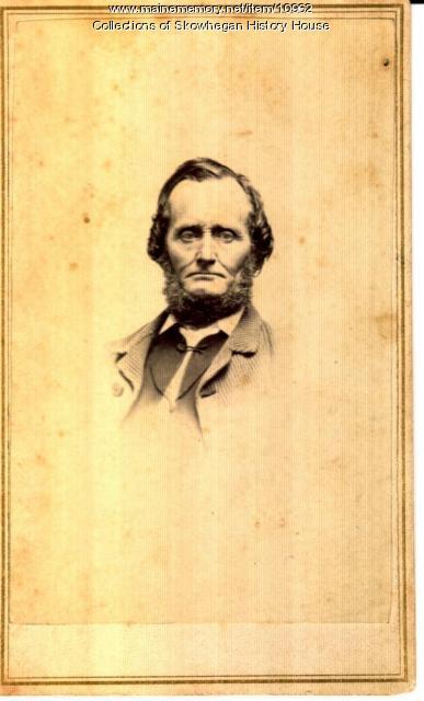 Alonzo Coburn, Skowhegan, 1875