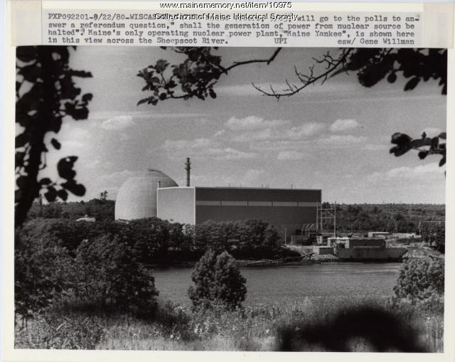 Maine Yankee Nuclear Power Plant, 1980