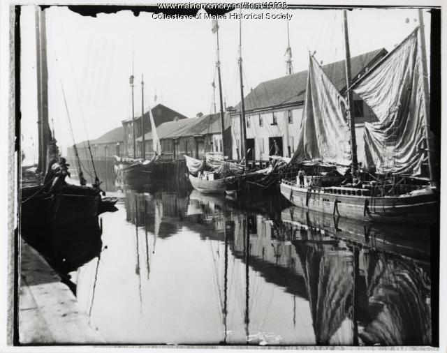 Waterfront, Portland, ca. 1890