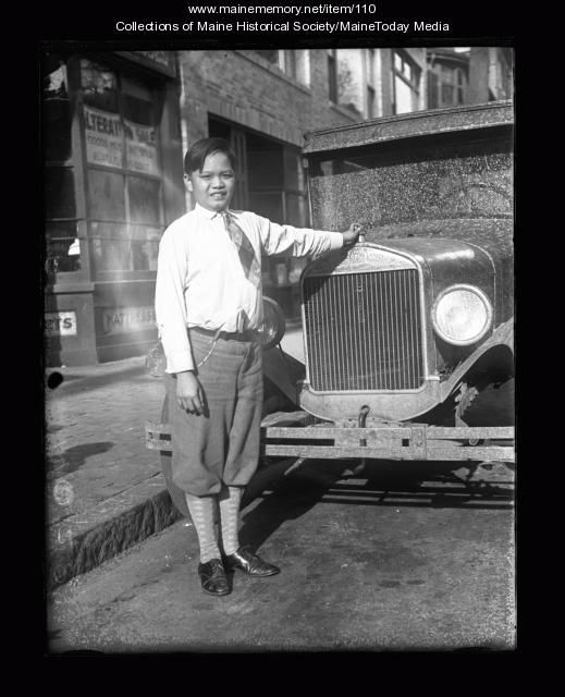William Wong, Portland, ca. 1926