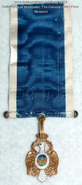 Society of the Cincinnati Medal, ca. 1784