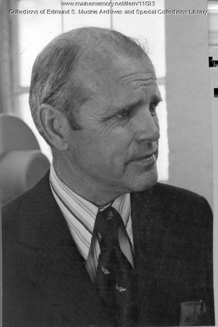 James B. Longley, ca. 1976