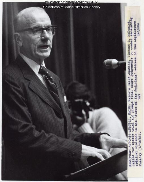 Vincent L. McKusick, 1981
