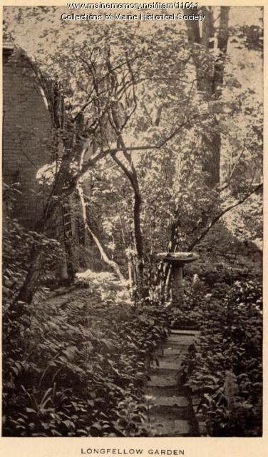 Longfellow Garden pamphlet, Portland, ca. 1924