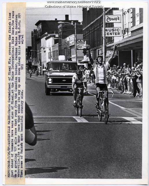 Maine International Bike Race, Waterville, 1981