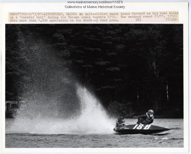 Tacoma Lakes Regatta, Litchfield, 1981