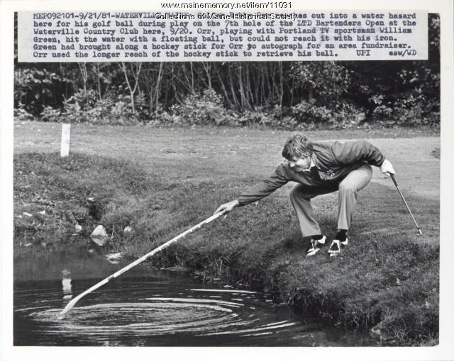 Bobby Orr, Waterville, 1981
