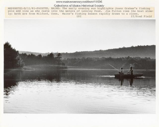 Lovejoy Pond, Fayette, 1981