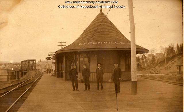 Canadian Pacific station, Greenville Junction, ca. 1900