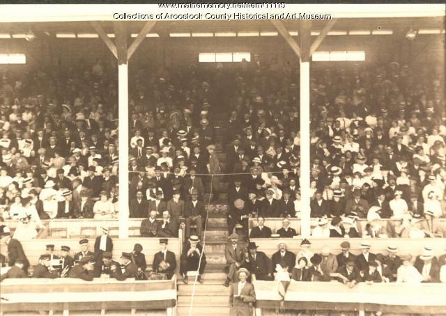Grandstand, Houlton Community Park, 1914