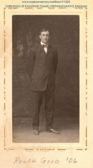 Ralph Good, Monticello, 1906