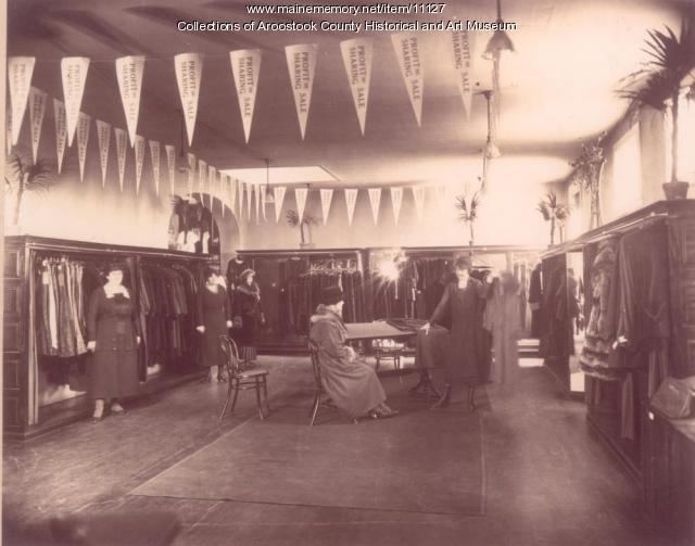 G.W. Richards Store, Houlton, ca. 1914
