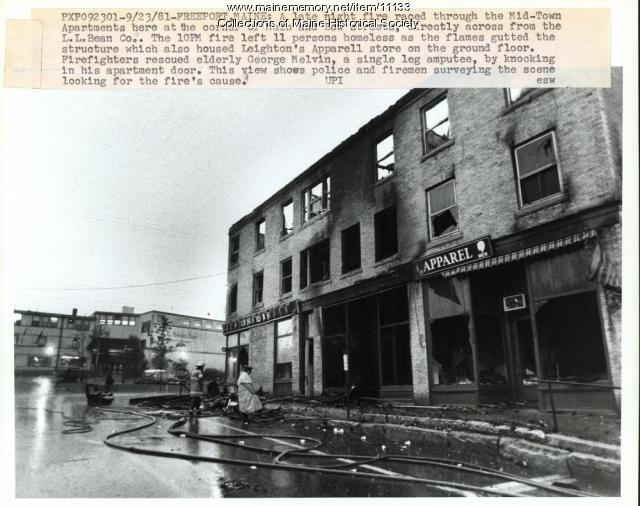 Freeport Fire, 1981