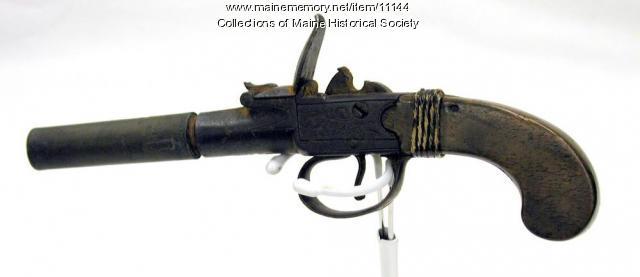 Peleg Wadsworth's Pistol