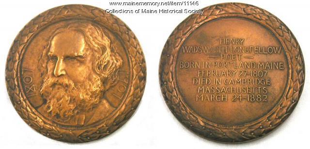 Longfellow Commemorative Medallion