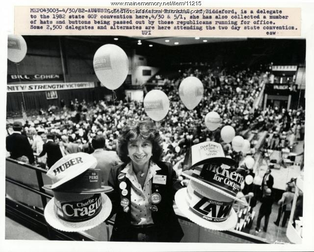 Republican state convention, Augusta, 1982