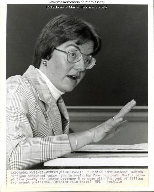 Diantha Carrigan, Augusta, 1982