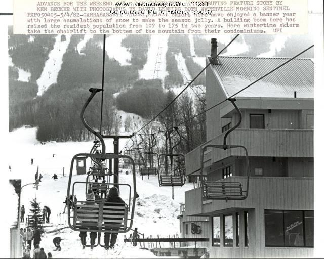 Condominiums, Carrabassett Valley, 1982