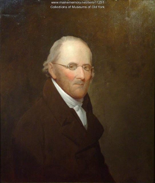 Portrait of Nathaniel Barrell, 1816