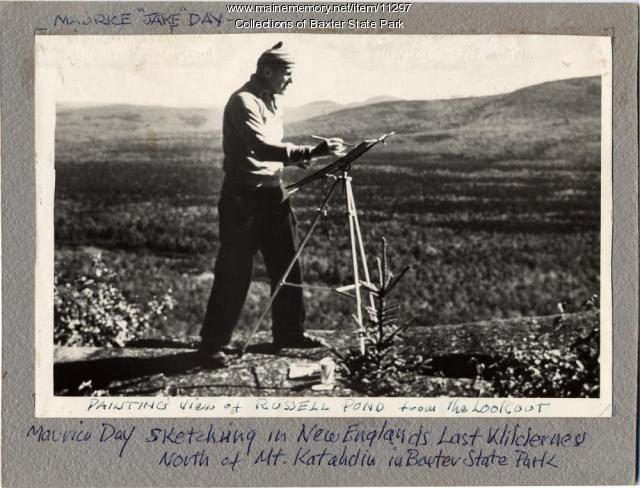 Maurice Day, Baxter State Park, c. 1940