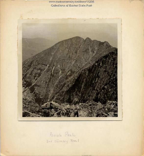 Pamola Peak, Katahdin, Baxter State Park, ca. 1933