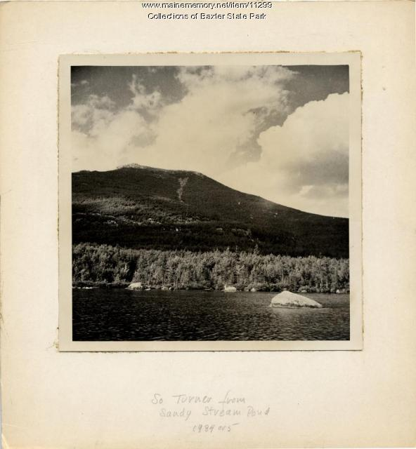 South Turner Mountain, Baxter State Park, c. 1934
