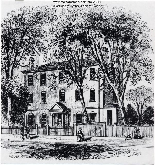 Wadsworth-Longfellow House, Portland