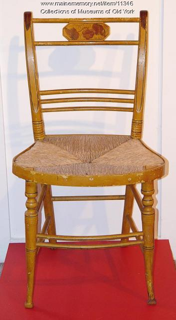 Sheraton side chair, ca. 1820